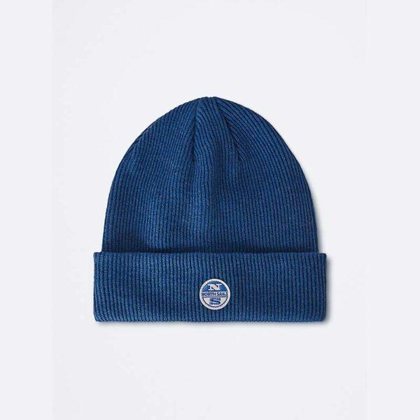 north sails abbigliamento cappello blu elettrico con logo