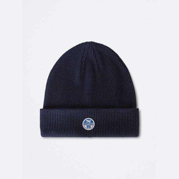 north sails abbigliamento cappello blu scuro con logo