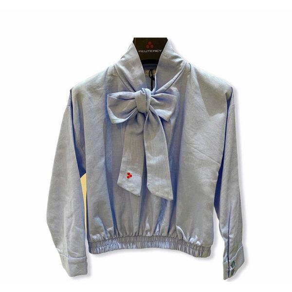 Peuterey outlet maglia per donna con fiocco