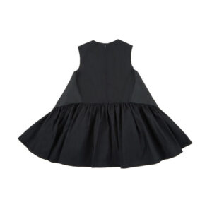 Simonetta Abbigliamento Outlet Nuova Collezione Abito Nero Per Bambina Retro