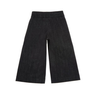 Simonetta Abbigliamento Outlet Pantaloni Neri Per Bambina
