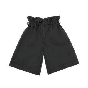 Simonetta Abbigliamento Outlet Shorts Neri Per Bambine