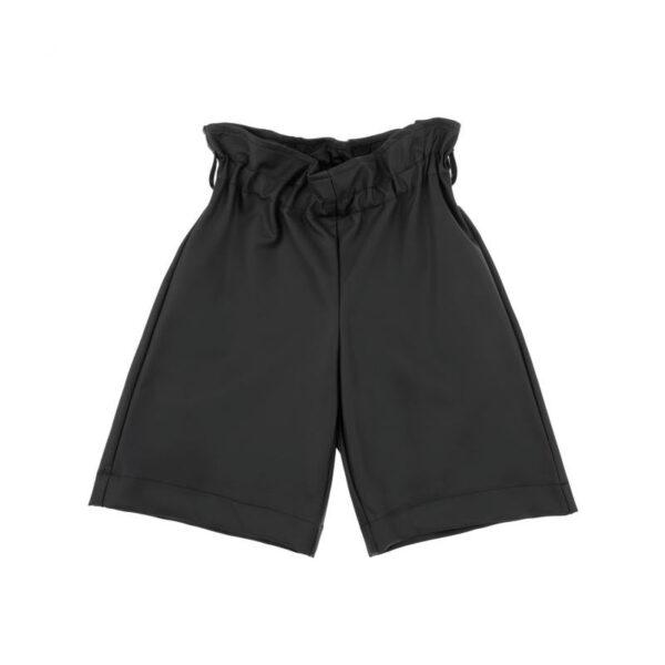 Simonetta abbigliamento outlet shorts neri per bambina