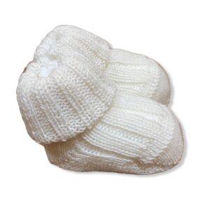 Gallo Babbucce Bianche Per Neonati