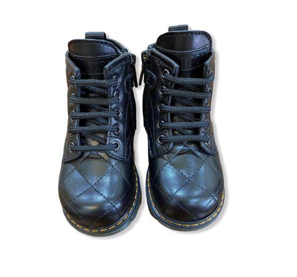Gallucci outlet scarpe nero mezzo stivaletto