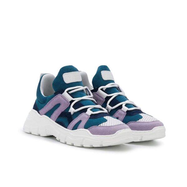 Gallucci sneakers blue rosa