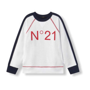 N°21 KIDS FELPA CON STAMPA