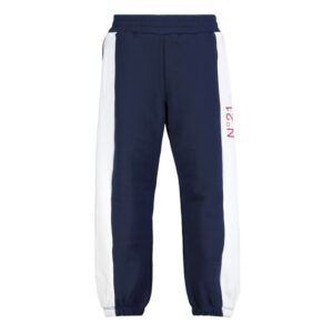 N°21 KIDS PANTALONI SPORTIVI CON DESIGN COLOR-BLOCK