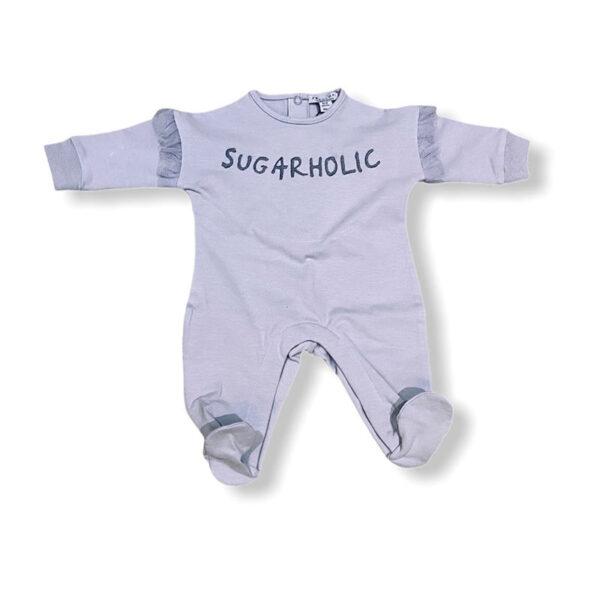 Yell Oh abbigliamento bambini tutina neonato azzurra