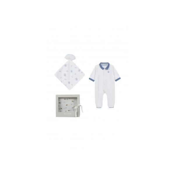 tartine et chocolat completo nascita blu per neonati