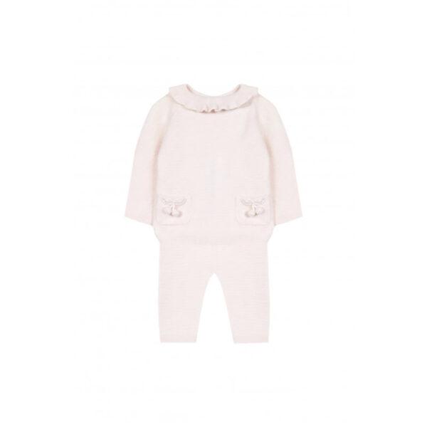 tartine et chocolat outfit bebè rosa