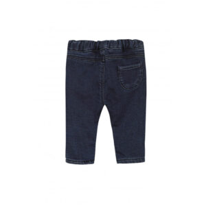 Tartine Et Chocolat Pantaloni Denim Blu Marin Retro