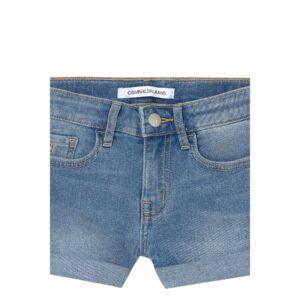 Calvin Klein Kids Shorts Jeans Bambina Denim