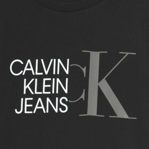 Calvin Klein T-shirt Nera Con Logo