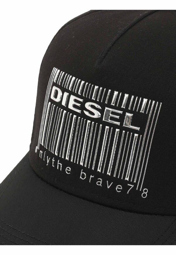 Diesel berretto nero