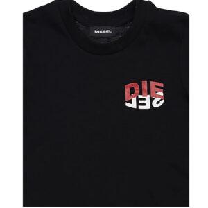 Diesel T-shirt Nero Dettagli