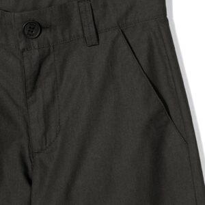 Douuod Kids Pantalone Nero Con Tasche