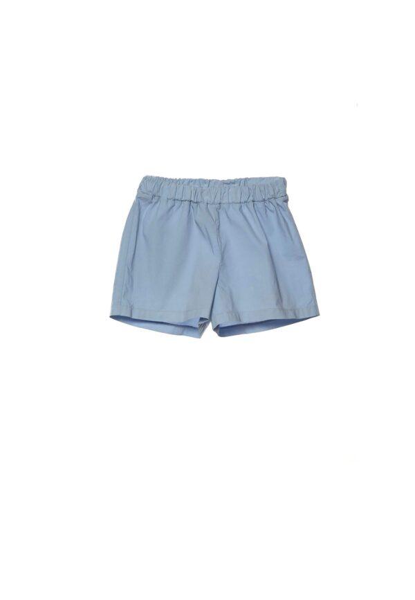 Douuod Kids shorts bimba celeste