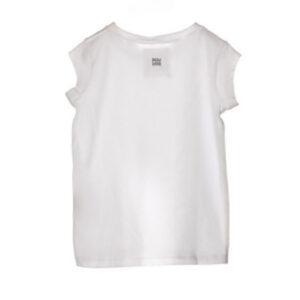 Douuod Kids T-shirt A Bianca Manica Corta