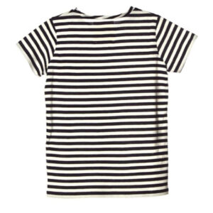 Douuod Kids T-shirt A Righe Bianche E Nero