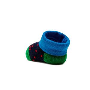 Gallo Babbucce Royal Verdi E Blu Con Testo Rosso