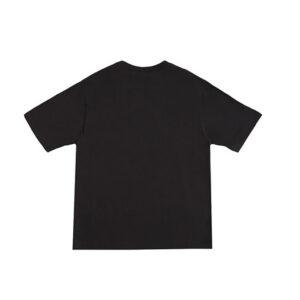 N°21 Kids T-shirt Nera Con Stampa Love Bianca