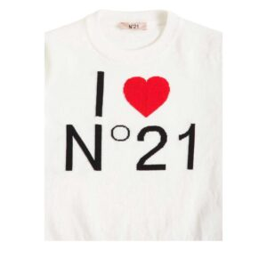 N°21 Maglioncino Ragazza I Love N°21