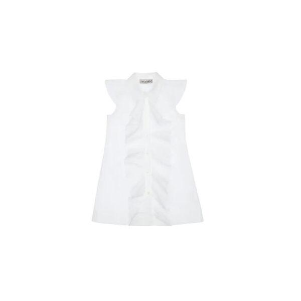 Simonetta vestito bianco per bambina