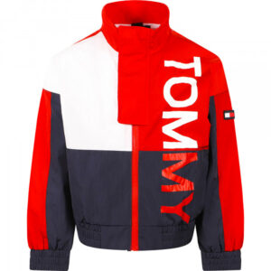 TOMMY HILFIGER JUNIOR GIACCA COLOR BLOCK