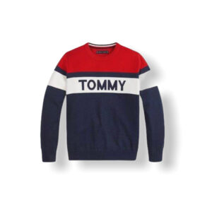 TOMMY HILFIGER JUNIOR PULLOVER COLOR BLOCK