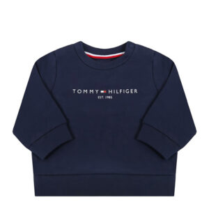 Tommy Hilfiger Junior Set Pantalone E Felpa Per Neonato
