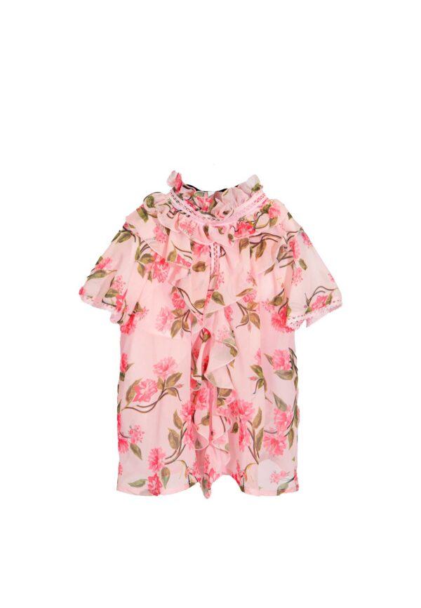 Alberta ferretti Junior camicia fantasia fiori