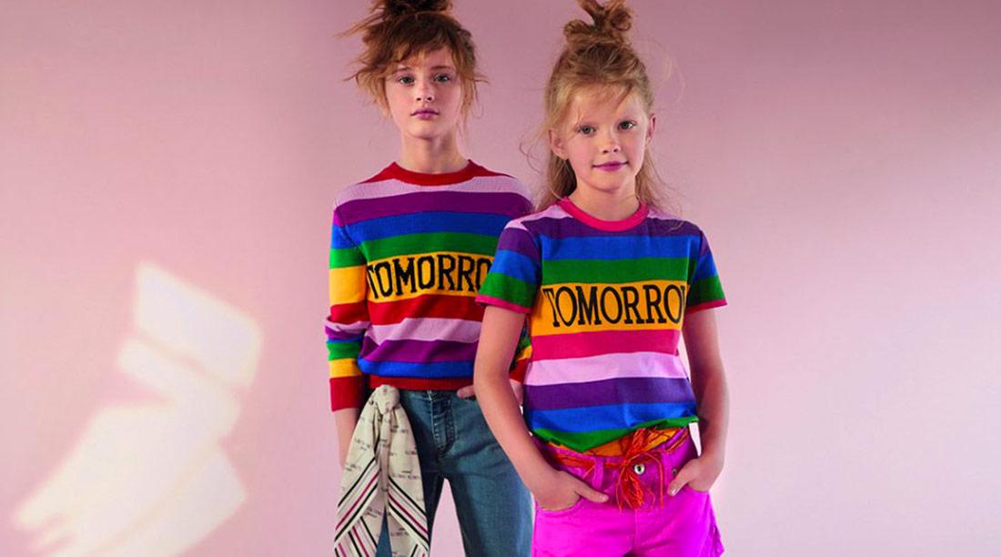 Alberta Ferretti Junior moda bambino