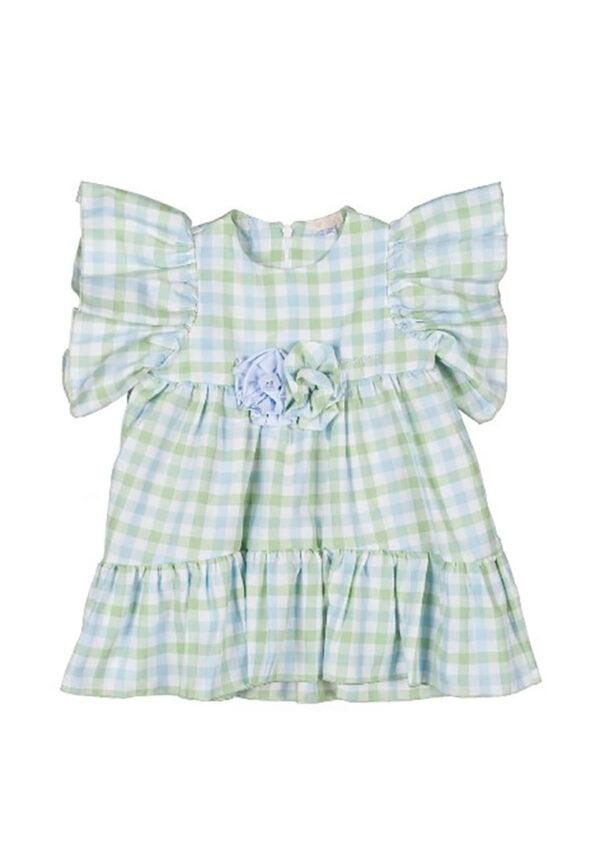 Nanan abito scozzese bambina