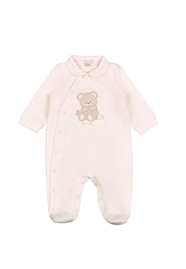 Nanan tutina rosa con orsetto