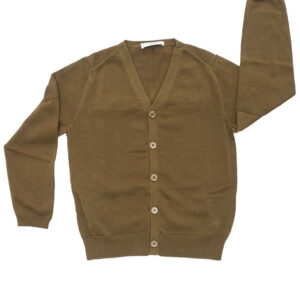 PAOLO PECORA KIDS CARDIGAN CON BORDO A COSTE