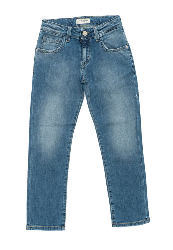 Paolo Pecora Kids jeans denim