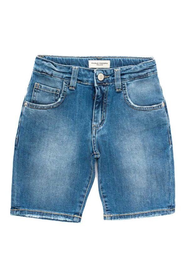 Paolo Pecora bermuda denim jeans