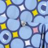 Simonetta camicia in raso motivo maioliche