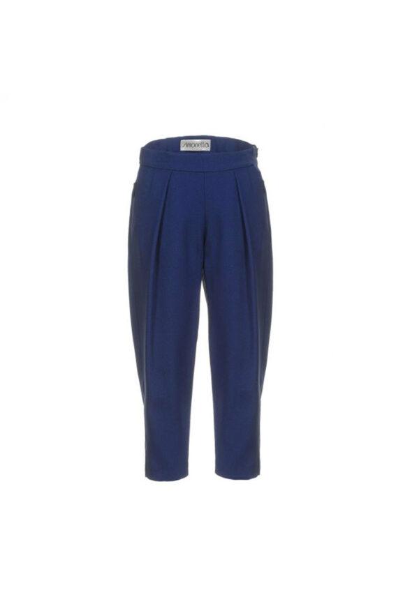 Simonetta pantaloni blu bambina
