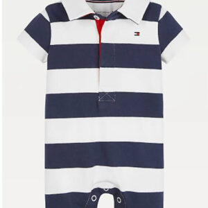 TOMMY HILFIGER JUNIOR TUTINA A RIGHE RUGBY