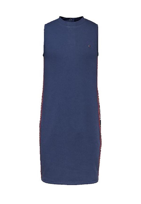 Tommy hilfiger abito lungo blu