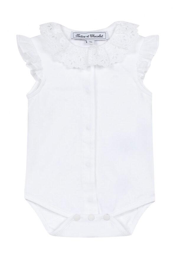 Tartine et chocolat t-shirt tutina bianca