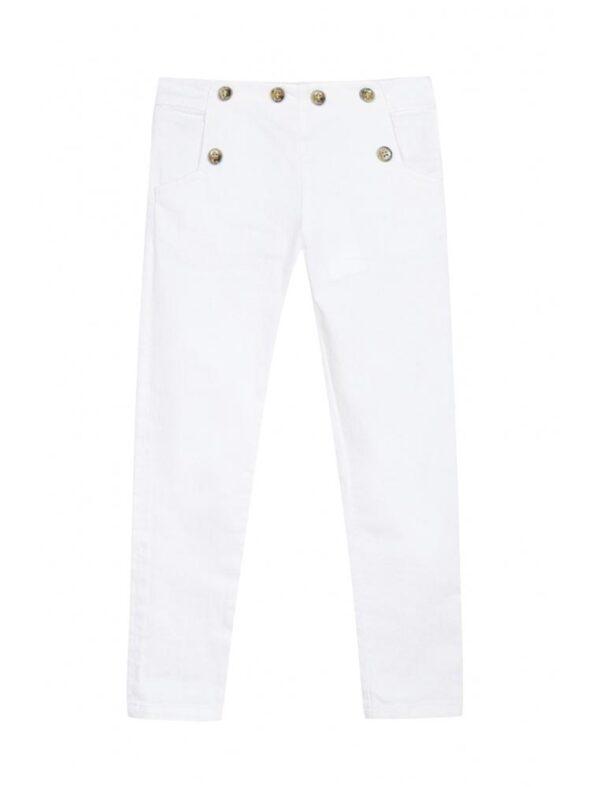 Tartine et chocolat pantaloni bianchi jeans