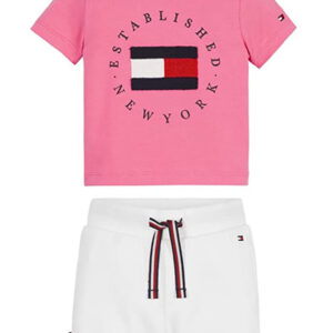 TOMMY HILFIGER JUNIOR SET CON STAMPA
