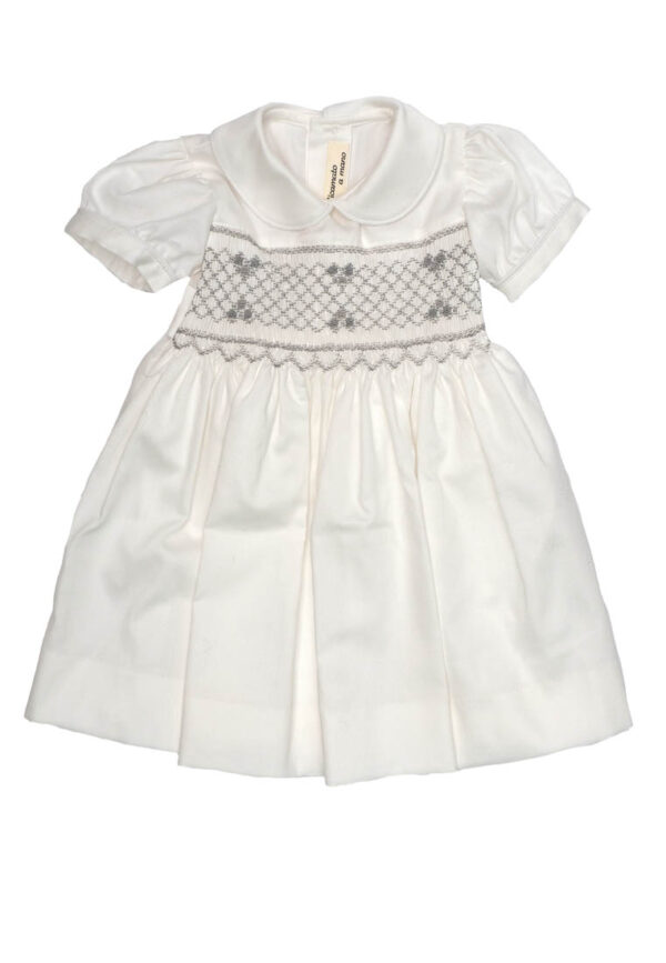 Amore della Mamma vestitino neonata bianco