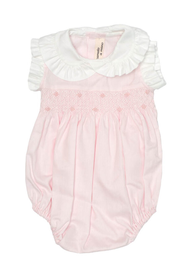 Amore della Mamma vestitino neonata rosa