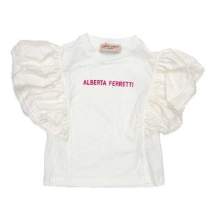 ALBERTA FERRETTI KIDS T-SHIRT CON STAMPA