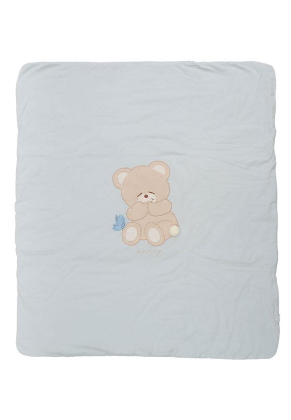 Copertina neonato Nanan con orsetto