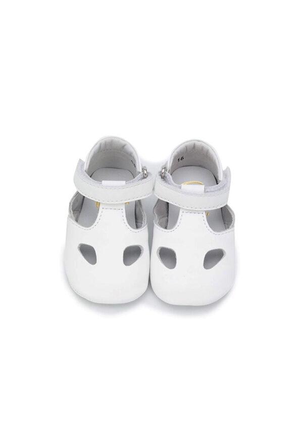 Gallucci scarpe bebè bianche